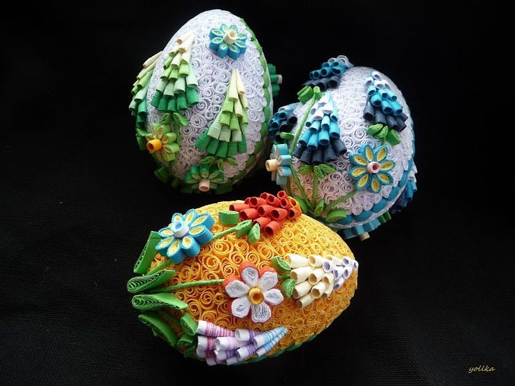 431 Best Images About Quilling Eggs On Pinterest Paper