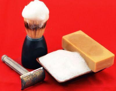 Receta Jabon de afeitar casero con Manzanilla