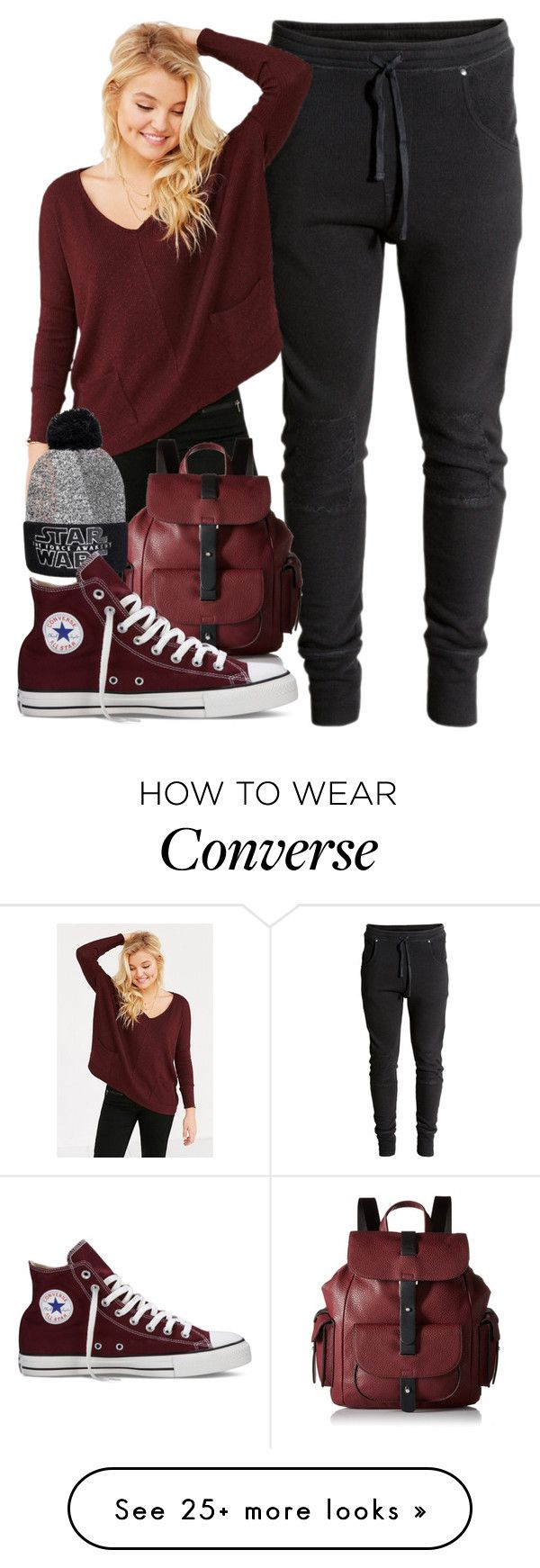 """Foster Kid #181 *Watching Star Wars*"" by jlol on Polyvore featuring H&M, BDG, Kenneth Cole Reaction and Converse"