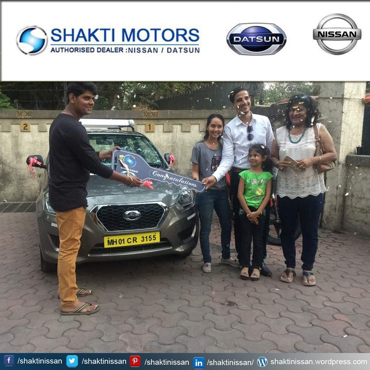 """Our Proud Customer Congratulations """"U.N #Tours and #Travels"""" for getting his new #DATSUN Car. Know more about #ShaktiNissan : https://goo.gl/48nqn1 #DatsunCarDelivery #NissanCar #Sunny #Terrano #Active"""