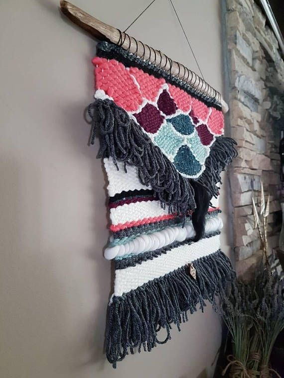 Check out this item in my Etsy shop https://www.etsy.com/ca/listing/568190745/medium-woven-wall-hanging