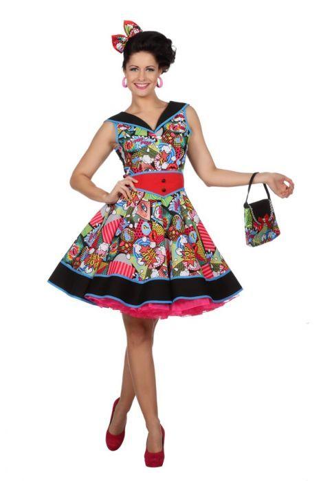 fda1aa4da61402 Pop Art jurkje is een geweldig nieuw thema voor carnaval 2018 ...