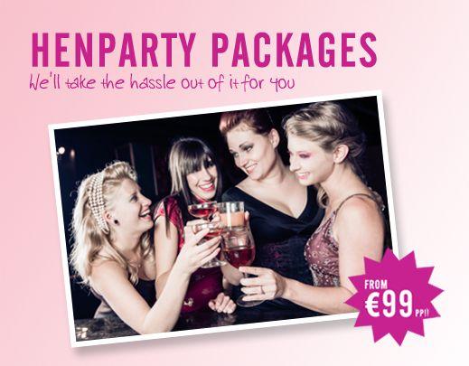 Hen Party Cork | Dublin | Belfast | Athlone |Waterford | Galway | Kilkenny | Carrick on Shannon | Tralee | Kinsale | Kenmare