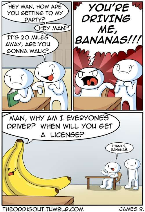 Theodd1sout :: Let's go, bananas. | Tapastic Comics - image 1