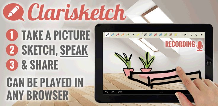 Check out #clarisketch. This #newapp will make communicating and sharing your ideas/concepts with clients much easier!