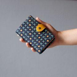 wallet  Peněženka Piškvorky :: LOOKrecia - LOOKrecia| Ručně šité originální kabelky, homeopatická pouzdra, dámské peněženky, kabelky pro děti, bokovky, elegantní ledvinky