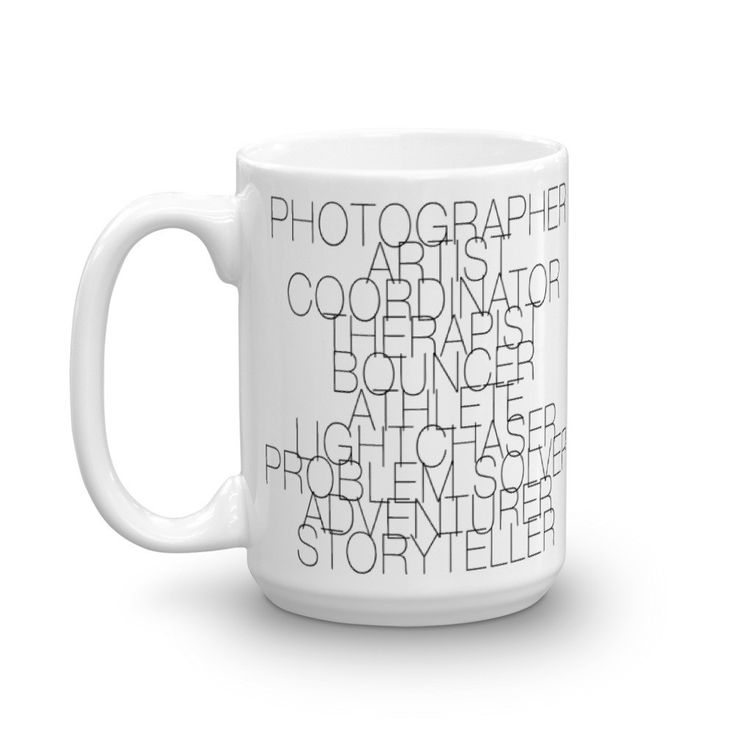 The Wedding Photographer Job Description Mug