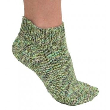 Free Knit Ankle Sock Pattern - Free Patterns - Books & Patterns