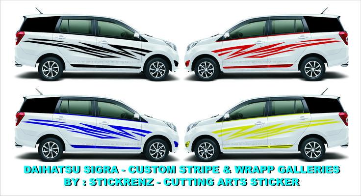Daihatsu Sigra - Custom Stripe & Wrapp - Concept Galleries 002