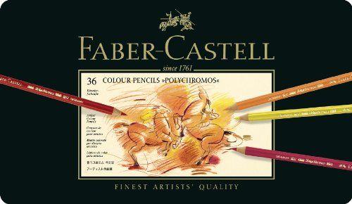 Faber-Castell 110036 - Künstlerfarbstift POLYCHROMOS, 36er Metalletui Faber-Castell http://www.amazon.de/dp/B0007OECKI/ref=cm_sw_r_pi_dp_8SNLvb1NF708Q