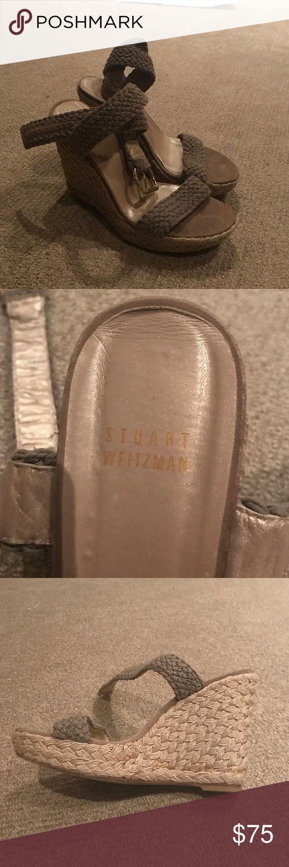 Stuart Weitzman Espadrilles Beige and Gold Stuart Weitzman Espadrilles Stuart Weitzman Shoes Espadrilles