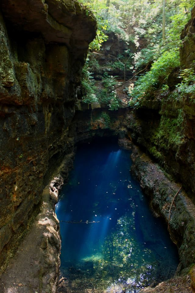 Blue Hole - Mark Twain National Forest