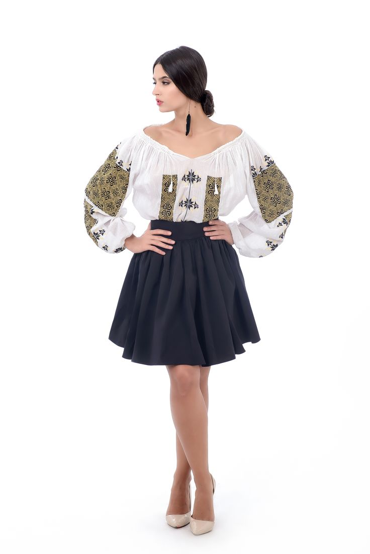 Traditional blouse!  #romanianblouse #folk #bohem #chic #beauty