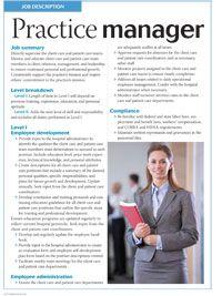 Sample veterinary team job descriptions