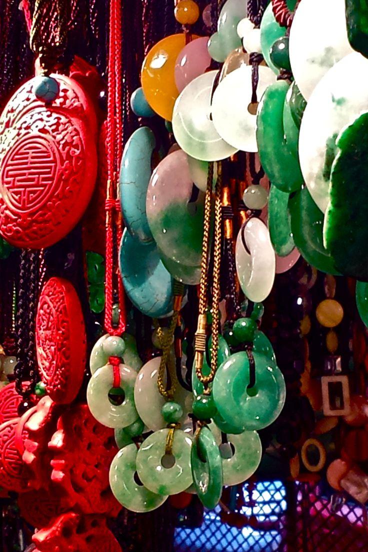 Jade Market, Kowloon, Hong Kong (Be sure to bargain!)