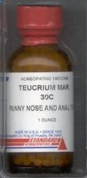 Homeopathy for Health - Teucrium : used to improve problems with nasal polyps, sensation of obstructions, or tingling in nose. Teucrium Mar is useful for symptoms restless legs, numbness and tingling in limbs. Teucrium Mar is used when a person is no longer responding to homeopathy. Abuse of too many remedies or medications has produced an hypersensitive state and remedies are failing to act. also Morgellons Remedies : www.earthclinic.c...