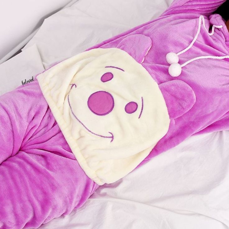 PURPLE BEAR PAJAMA
