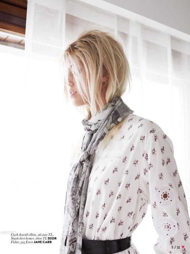 Devon Windsor by Horst Diekgerdes for Vogue Turkey March 2015 dior
