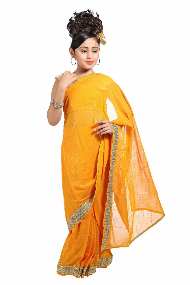 Buy a saree for your kids on this Sunday and give them a surprise gift.