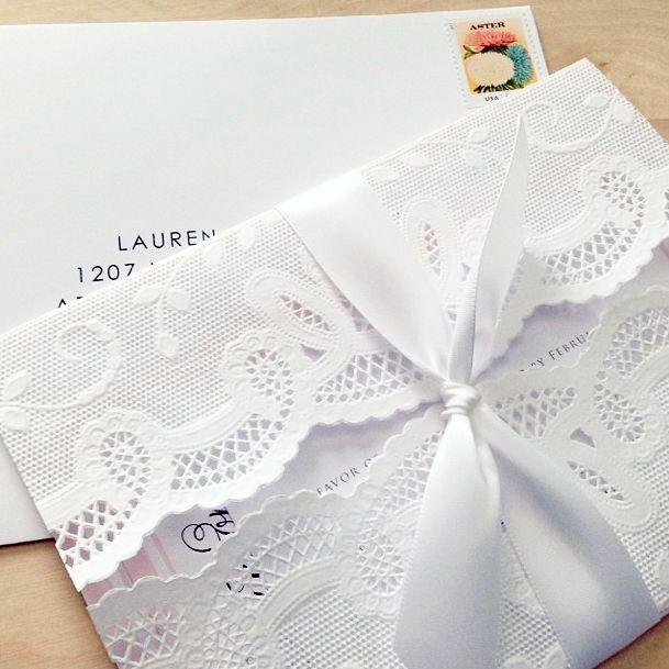 Custom paper services invitations