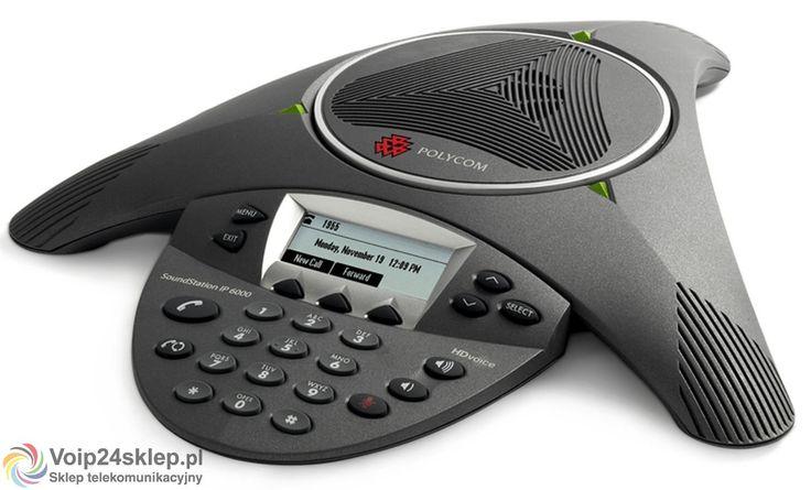 TELEFON KONFERENCYJNY POLYCOM SOUNDSTATION IP6000 POE