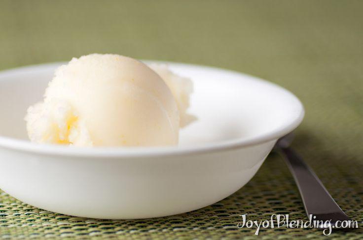 Meyer Lemon Sorbet | Vitamix Recipe