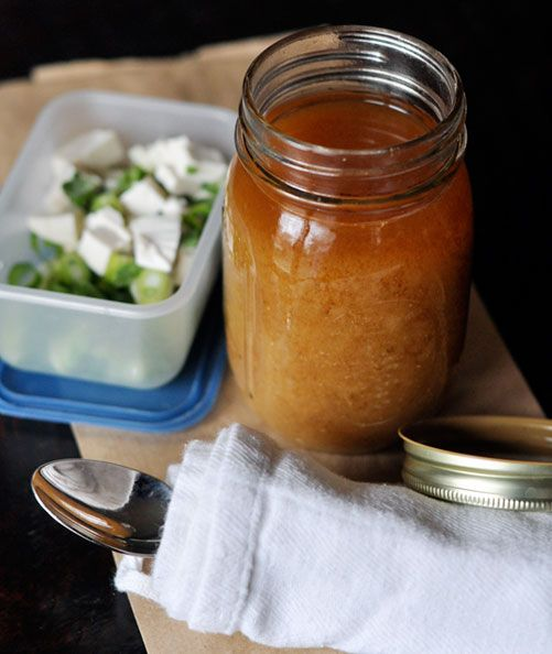 Take Soup to Work in a Canning Jar Reader Tip