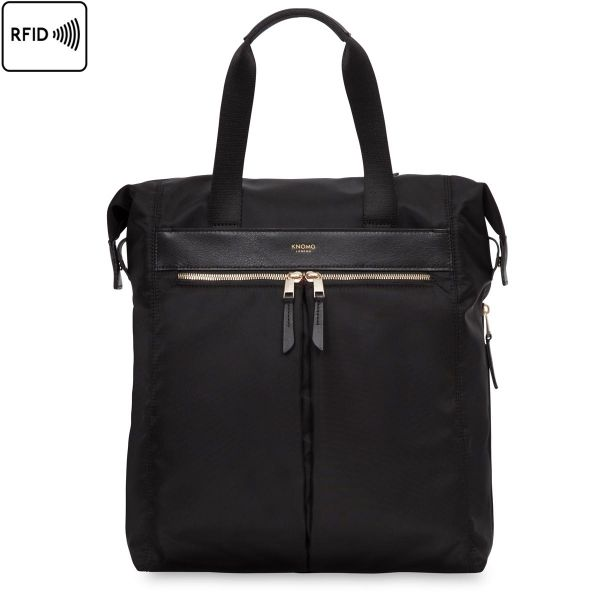 Chiltern Women's Tote Backpack - Black | KNOMO