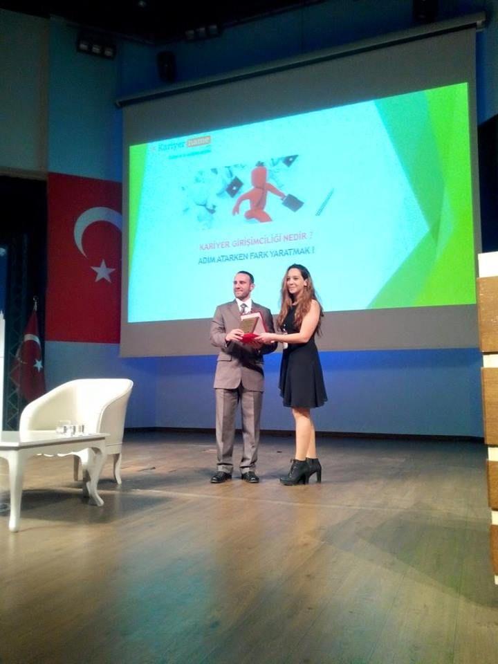 Yıldız Teknik Üniversitesi'nden Türkiye'nin ilk ve tek #bilişim ve #teknoloji sektörü #kariyer sitesi www.kariyername.com ailemize bir ödül daha geldi... https://www.facebook.com/kariyername