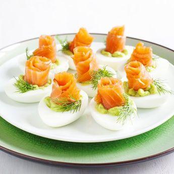 Oeufs mimosas au saumon fumé et asperges + 8 autres recettes d'oeufs mimosa