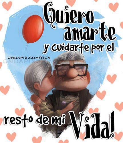UP :) Quiero amarte el resto de mi vida