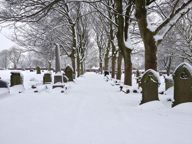 Graveyard in West Bromwich.