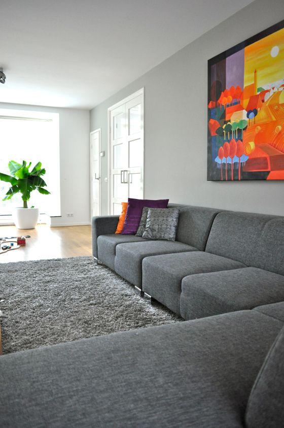 20 beste idee n over grijze muur verven op pinterest - Grijze en rode muur ...