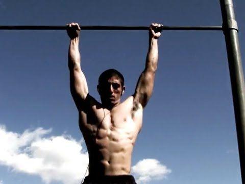 Flexiones de barras o dominadas