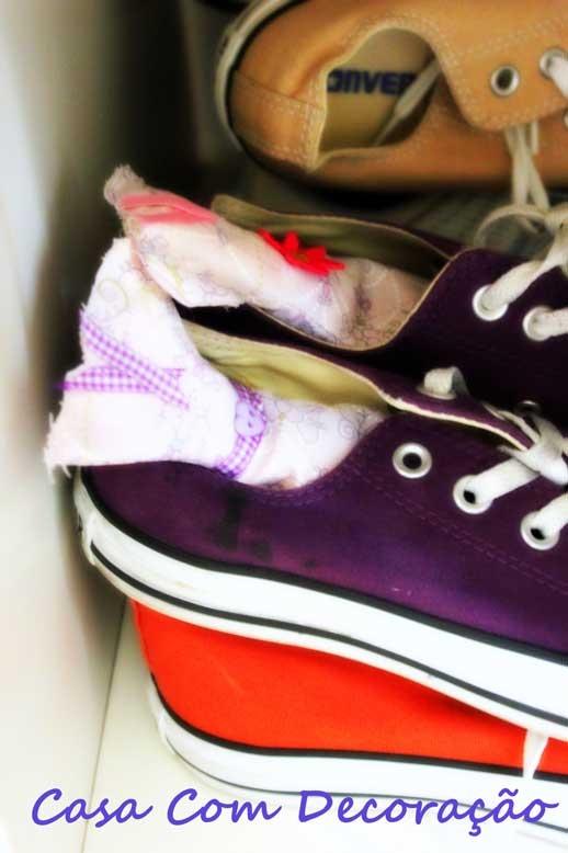 Projeto Saches para Sapato