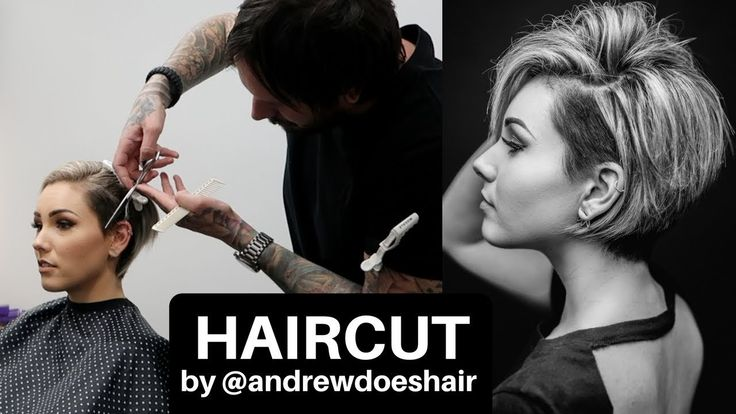 I CUT MY HAIR OFF!   ANDREW DOES HAIR