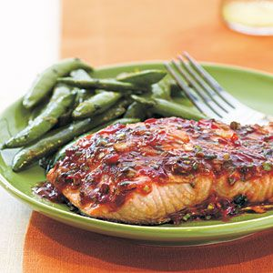 Chili-Garlic Glazed Salmon Recipe