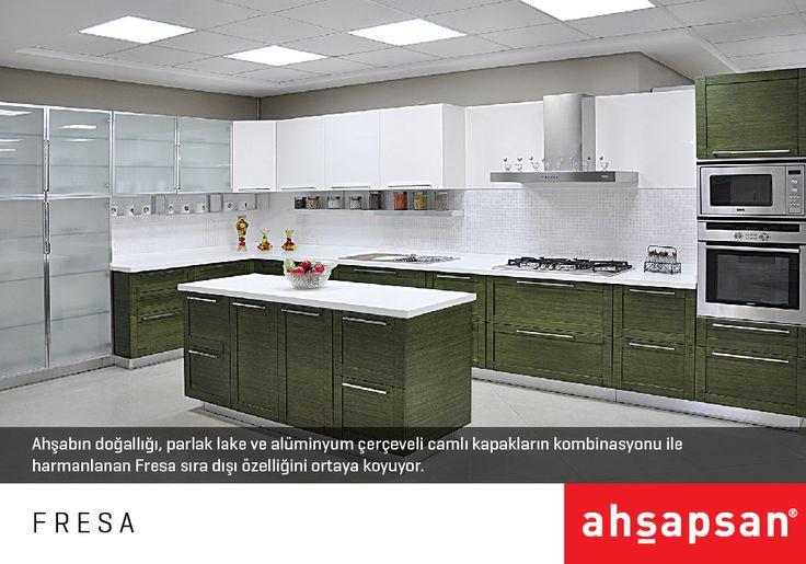 FRESA  #AHŞAPSAN #Mutfak #MutfakTasarımı #Mobilya #MutfakMobilyaları #KitchenDesign #Kitchen