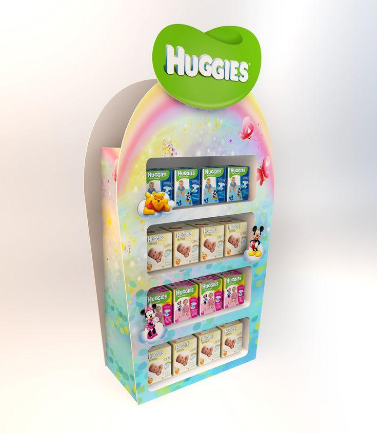 Display Huggies. Posm design. on Behance