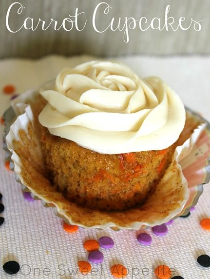 Simple carrot cake muffins recipe