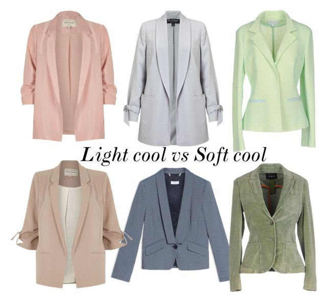 Light cool vs soft cool by glirendree on Polyvore featuring moda, Escada Sport, Max&Co., River Island, IANUX and Miss Selfridge