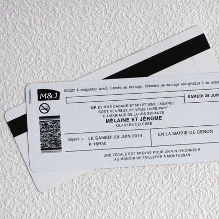 Billet de train SNCF