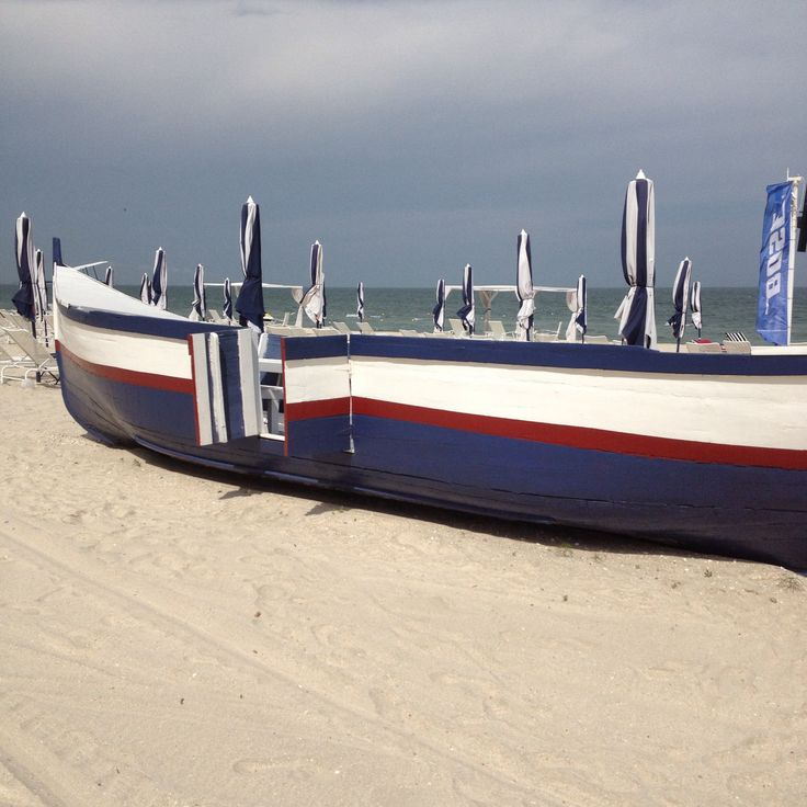 Boat at the seaside Romania