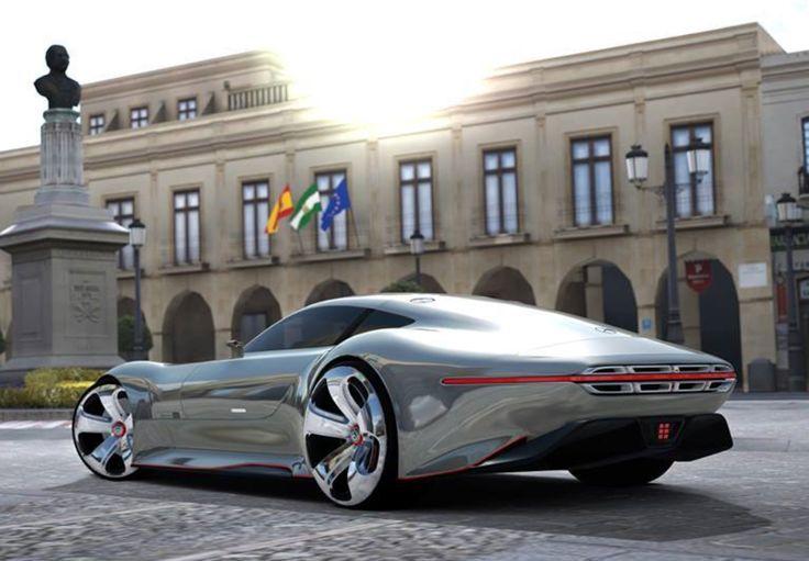 A super cool Maserati concept car!