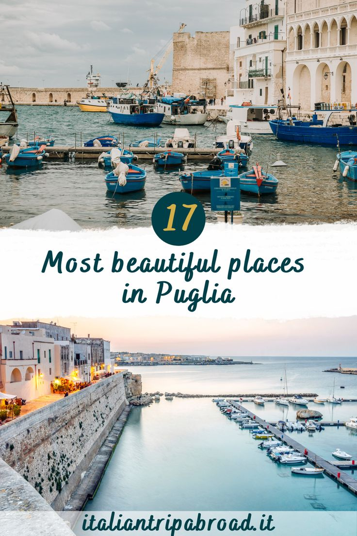 17 Most beautiful places in Puglia, Italy