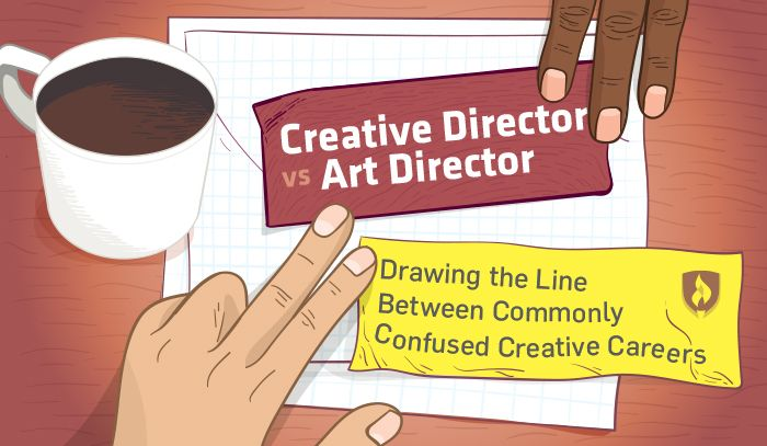 What's the difference between a Creative Director and an Art Director? Learn more about the distinct roles & responsibilities of these creative careers! #design #artdirector #creativedirector