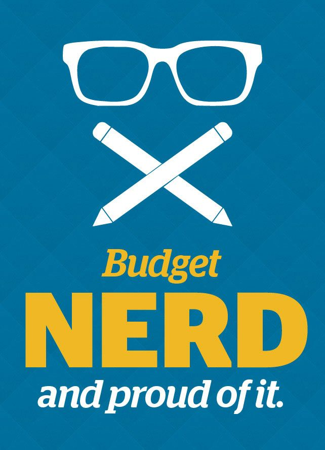 Budget Nerd: Proud of It! Free online budgeting tools from our favorite financial guru Dave Ramsey. Want to start off your life as a new professional the right way? Dave helps college students make decisions that are conducive to a financial freedom, providing advice on loans, career planning, & getting out of debt. We love ya Dave! :-)
