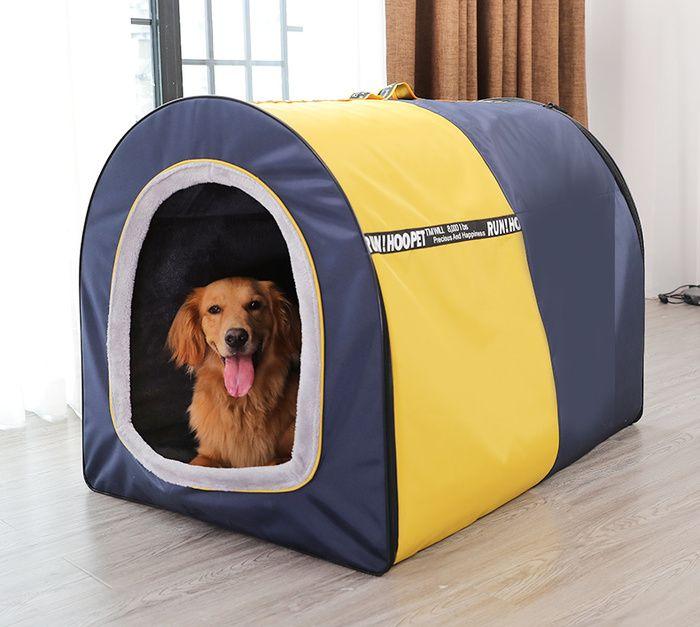 Two Color Big Dog Tent Pet Labrador Husky Dog Warm Bed Pet Medium And Large Dog House Dog Tent Puppy Kennel Dog Bed Large