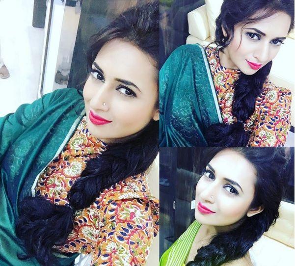 love the blouse & sari combo