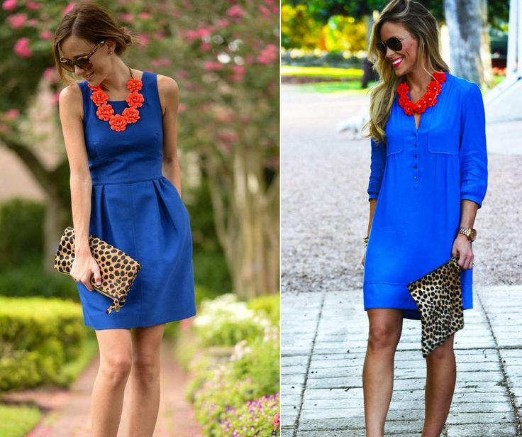 Seems like ladies called each other in the morning.. Wearing bright blue & red may end up as superman costume or it can pay out as an interesting contrast of colors.. #outfit #fashion #beauty